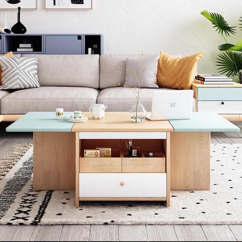 创意茶几客厅创意茶桌折叠茶几餐桌两用小户型茶台