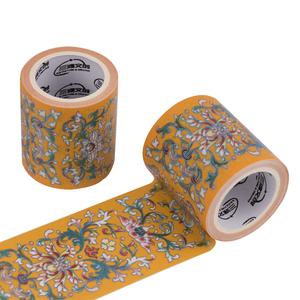 烫彩金特油和纸胶带中国古风口红贴纸