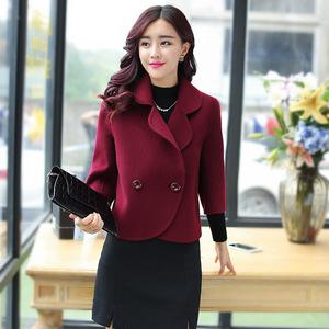Áo len ngắn nữ đoạn ngắn 2018 mùa xuân và mùa thu mô hình Hàn Quốc phiên bản của thời trang mới là mỏng lỏng áo len thủy triều