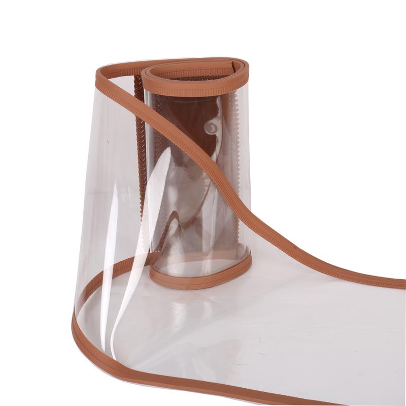 磁吸门帘塑料挡风防风冬季保暖家用磁铁自吸透明软门帘pvc定制