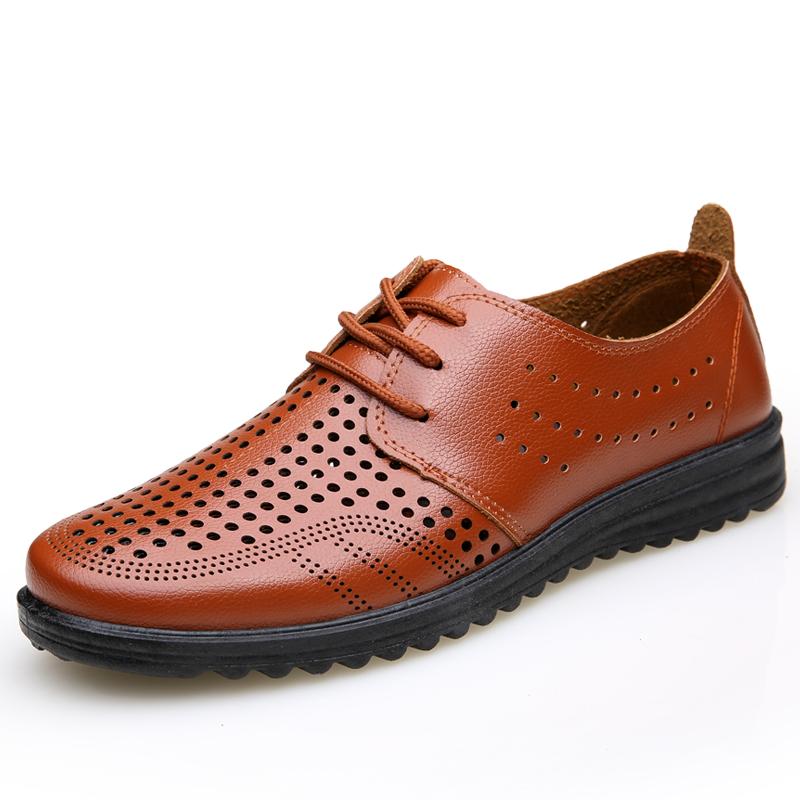 新款夏季男士凉皮鞋商务凉鞋