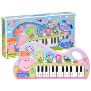 佩奇粉红猪小妹佩琪钢琴玩具琴儿童