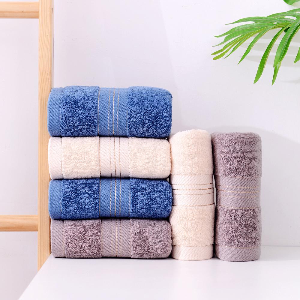 5条 毛巾洗脸擦脸毛巾洗澡家用成人男女帕全棉柔软吸水不掉毛