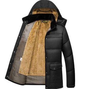中老年男士棉衣内胆棉服男秋冬爸爸装加绒厚款爷爷加厚款棉袄外套
