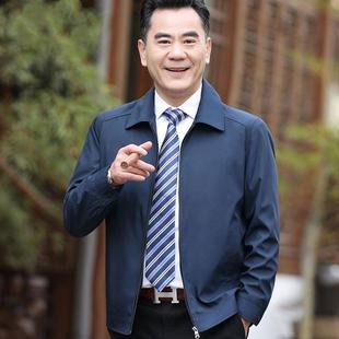 男士秋冬棉袄外套中老年加厚棉服爸爸装男装