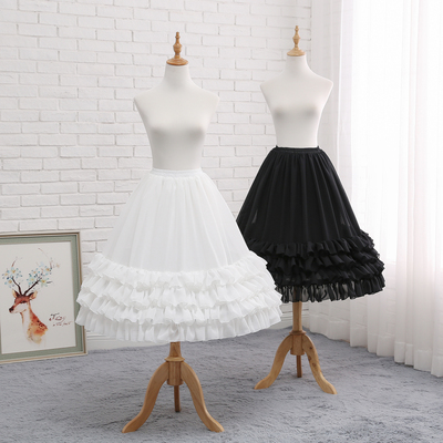 taobao agent Skirt support lolita daily violence fish bone support Lolita extension petticoat Carmen support soft sister skirt can be adjusted