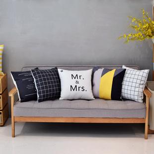 ins北欧风客厅沙发抱枕靠枕