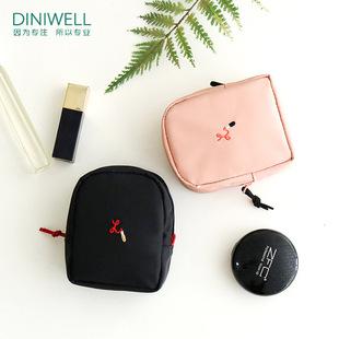 韩国可爱迷你手拿小方包化妆包