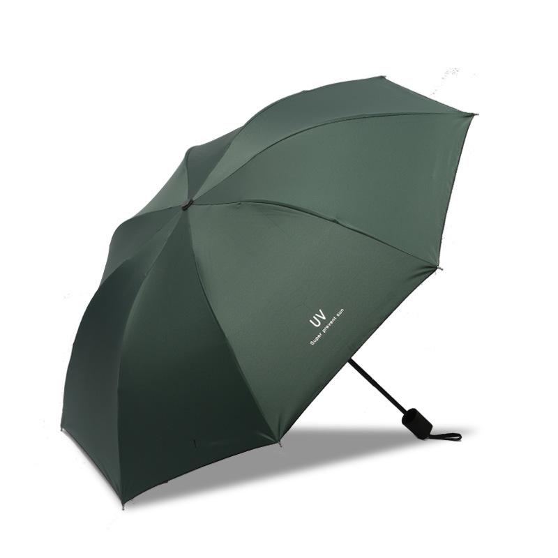 【黑胶防晒】遮阳自动晴雨两用折叠伞