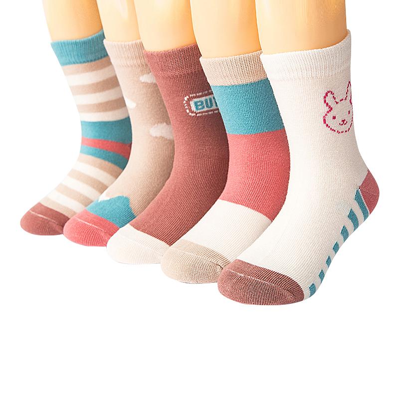 儿童袜子春秋纯棉中大男童女童1-16岁学生宝宝中筒透气婴儿纯棉袜,免费领取3元淘宝优惠卷