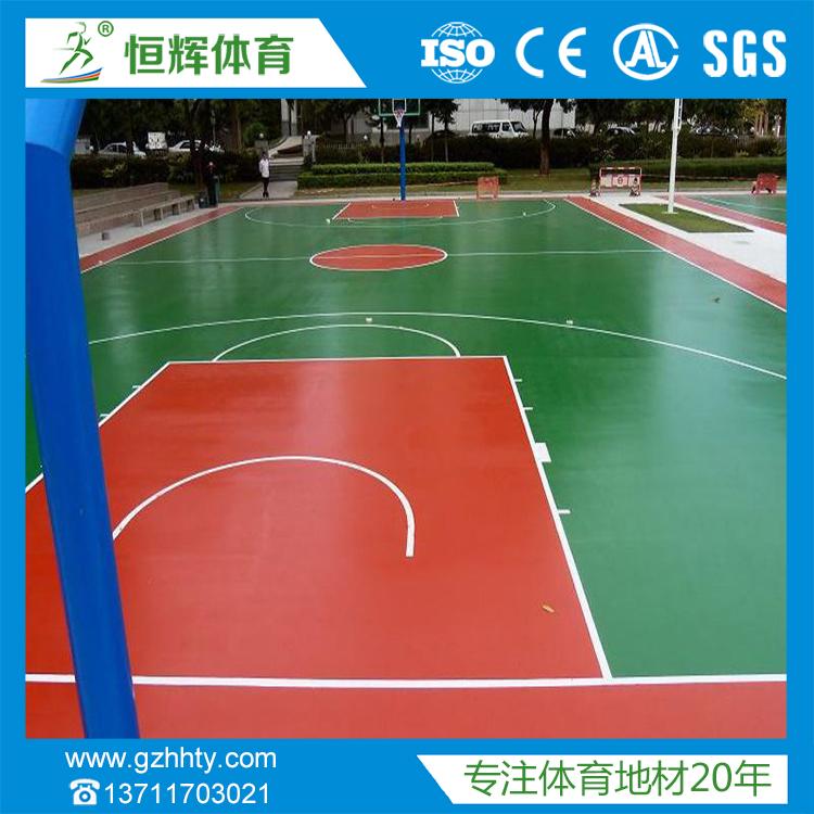 丙烯酸球场材料丙烯酸篮球场专业团队施工价格实惠