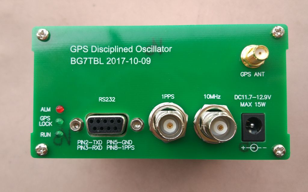 178 02] GPSDO-10MSI, GPS clock, GPS tame clock, 10M 10MHz