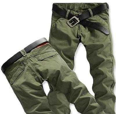 Mùa xuân và mùa hè nam quần cotton overalls quần âu mặc làm việc quần của nam giới thường quần thẳng quần quân sự Quần làm việc