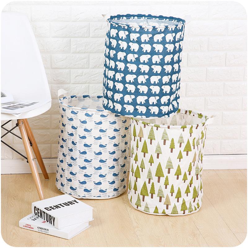 可折叠大号脏衣篮家居收纳筐整理袋A738浴室洗衣篮小孩玩具收纳袋