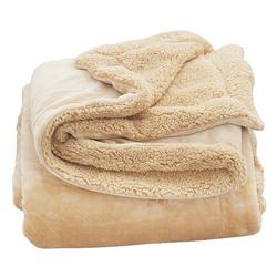 冬双层加厚珊瑚绒毯