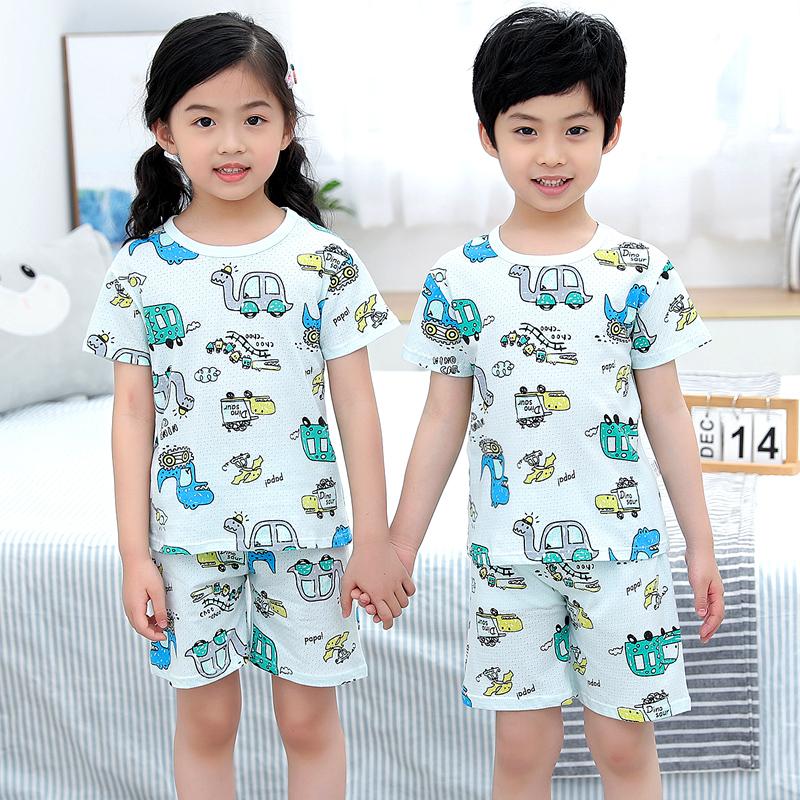 【多色可选】儿童纯棉睡衣套装