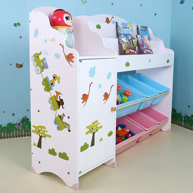 spielzeug f r die kinder im kindergarten rack holz baby. Black Bedroom Furniture Sets. Home Design Ideas
