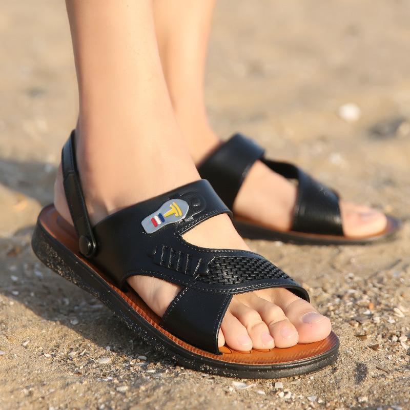 夏季软底沙滩凉拖鞋沙滩鞋