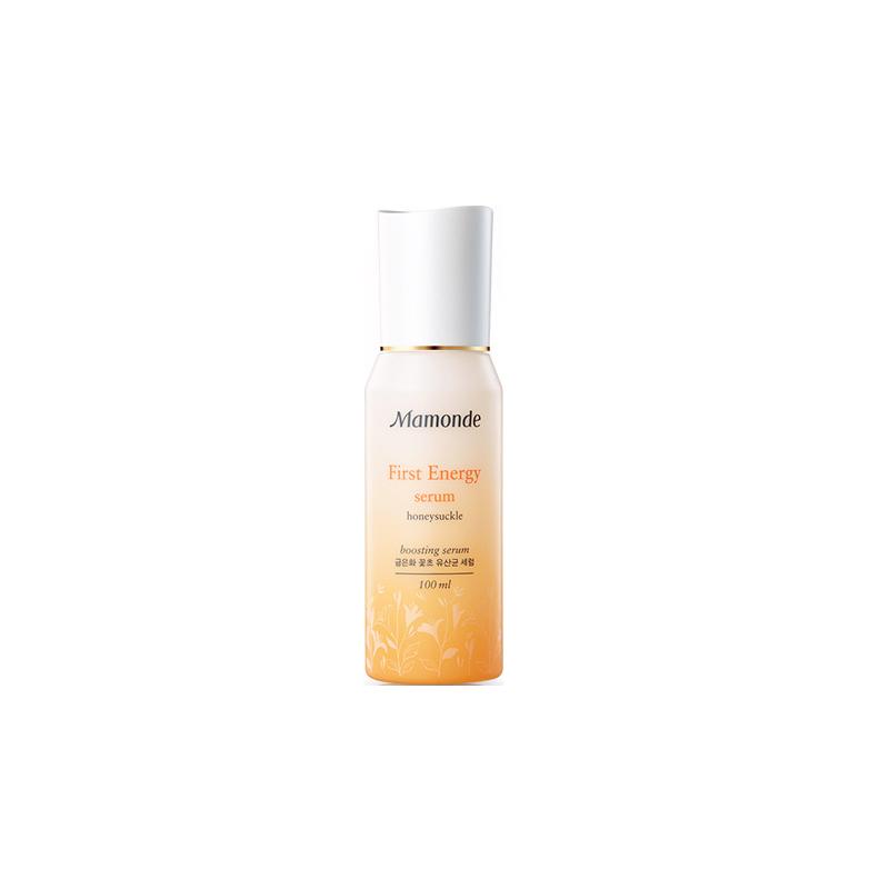 梦妆花源滋养精华肌底液补水保湿修护提升肌肤活力促吸�收水润净透