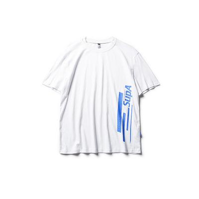 【特价】男道夏季新款图案印花短袖T恤男宽松百搭日系青年潮牌TEE
