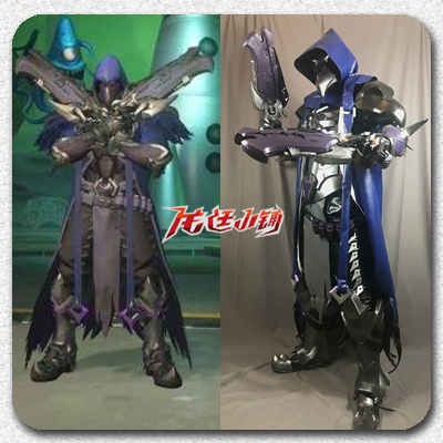 taobao agent 【Long Ting Xiaopu】Overwatch Grim Reaper Death Shadow Crow Costume Armor Weapon COS Costume Props