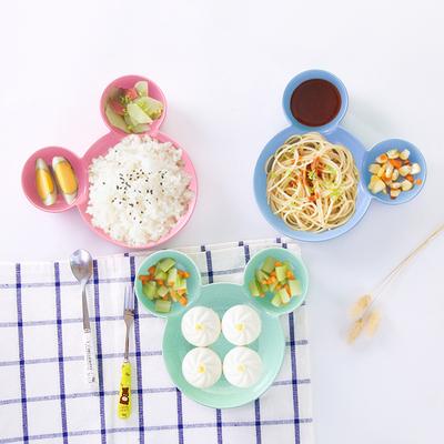家用创意日式餐具卡通儿童分格小吃蘸料碟调料碟醋碟调味碟盘子儿