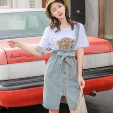 实拍白色短袖T恤2018夏装新款情侣学生宽松百搭港味韩系chic上衣