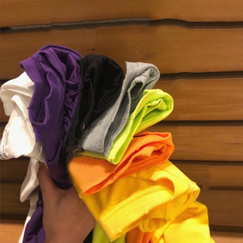 纯色T恤女夏季新款中长款基础款宽松圆领短袖上衣洋气打底衫