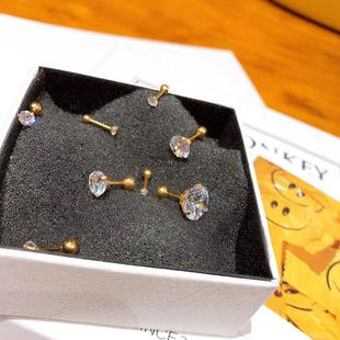 韩国耳骨钉钻石软骨钉