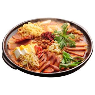 火锅食材韩式部队芝士年糕火锅套餐