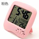 科士德精准温度计家用室内婴儿房高精度电子温湿度计干湿度计闹钟