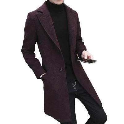 Mùa đông bông tuyết dài áo len nam cộng với phân bón XL áo len dày áo khoác nam chất béo Áo len