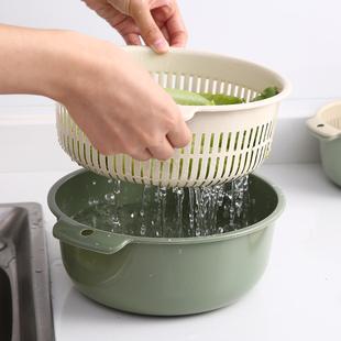 Двойной мыть блюдо бассейн пластик процедить корзину сын утечка бассейн мыть метр артефакт блюдо синий мыть блюдо бассейн домой кухня омывается фрукты
