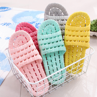 【集美】防滑情侣浴室拖鞋