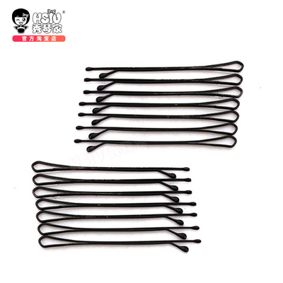 taobao agent Korean version of steel wire small hairpin U-shaped clip shape thin hair chuck hair small black clip edge cos simple small hairpin one word clip