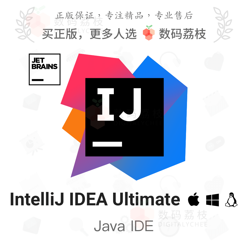 IntelliJ IDEA Ultimate[Mac/Win]正版授权,低至999元/年