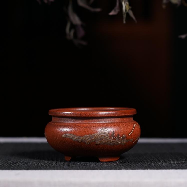 Tốt màu tím cát nhỏ lọ hoa thịt hoa nồi cổ sưu tầm đầu văn hóa cuộc cách mạng micro hoa nồi đặc biệt cung cấp