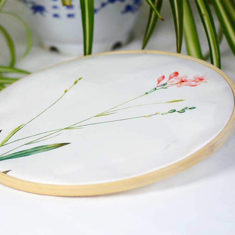 Nổi tiếng cổ nghệ thuật thêu Su thêu DIY kit sơn trang trí người mới bắt đầu orchid flower tay thêu 20 * 30 CM