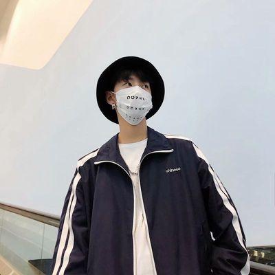 Ins siêu lửa áo khoác nam lỏng giản dị áo đa năng Hàn Quốc thanh niên phần mỏng cổ áo đồng phục bóng chày áo khoác nam Đồng phục bóng chày