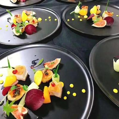 Khách sạn dao kéo đặt món ăn nhà món ăn phương Tây phân tử ẩm thực Ý món ăn bộ đồ ăn nhà hàng đặc biệt sáng tạo món ăn lạnh - Đồ ăn tối