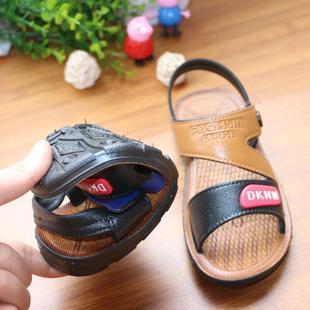 儿童夏季防滑凉鞋男童沙滩鞋