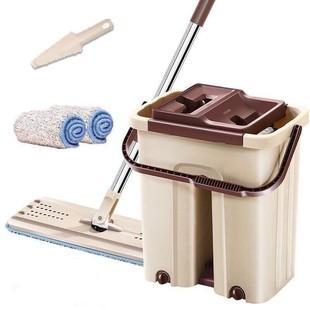 刮刮乐懒人免手洗平板拖把木地板家用拖把桶
