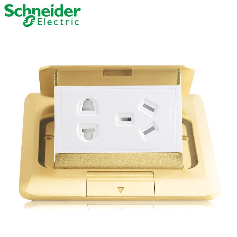 46 15 Schneider Socket Copper Waterproof Floor Socket Five