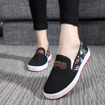 秋季老北京布鞋女鞋学生平底休闲鞋