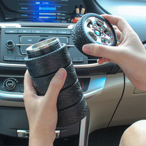 Creative car tire cup