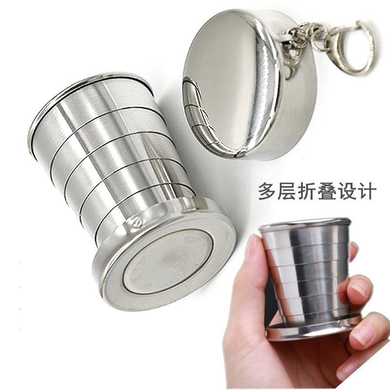 Shatterproof mouthwash folding cup for men and women