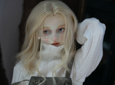 taobao agent Baby GUY spot bjd sd17 uncle doll hand change fake hair 3 points men and women dd soft hair middle points retro curly hair
