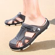 Dép nam bãi biển -  dép chống trượt đế mềm - giày dép lỗ bảo vệ chân - dép nam chất lượng cao, đơn giản- giày dép y tế cho nhân viên bệnh viện, phòng khám, ...