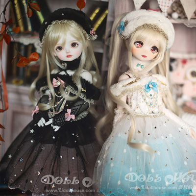 taobao agent 【Blue Moon's Doll House】4 points BJD giant baby MDD pass through Gemini suit swan dance skirt Shanghai store