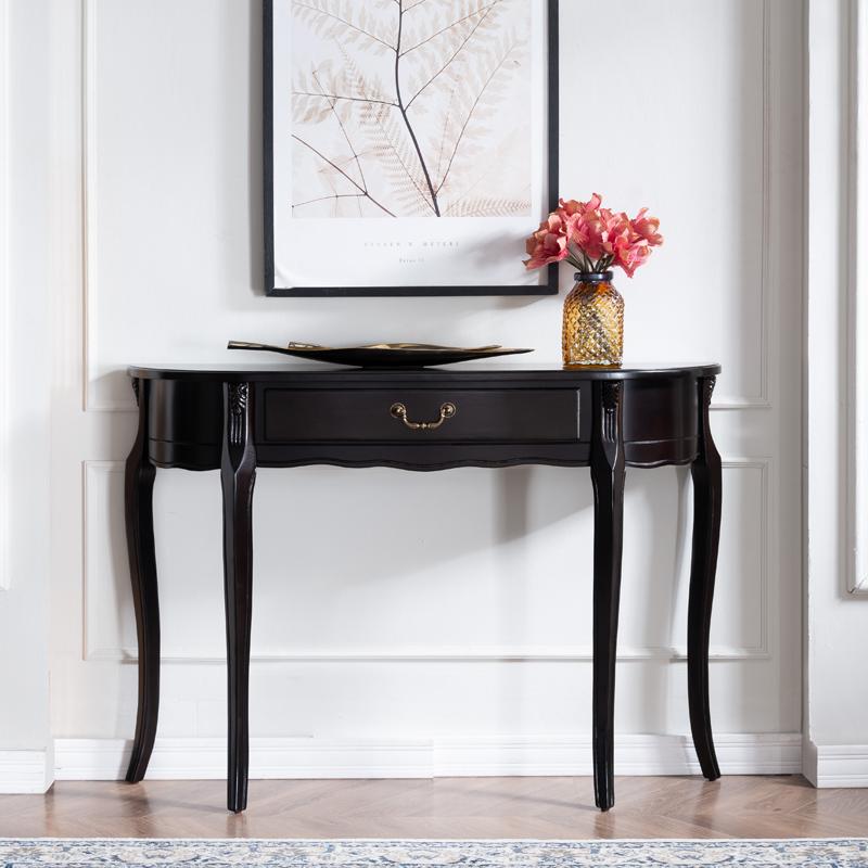 Американский вход стол опираться на стена узкий стол дерево вход стол погалстук-бабочкаруг вход тайвань континентальный вход кабинет диван задний кабинет